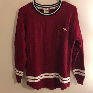VS Pink Long Sleeve Shirt